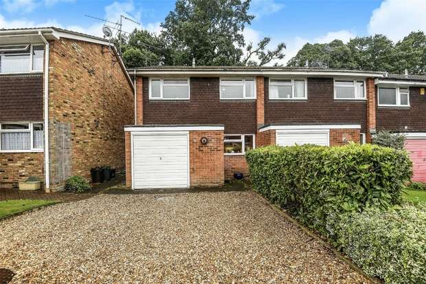 3 Bedrooms End Of Terrace House for sale in Jerrymoor Hill, FINCHAMPSTEAD, Berkshire