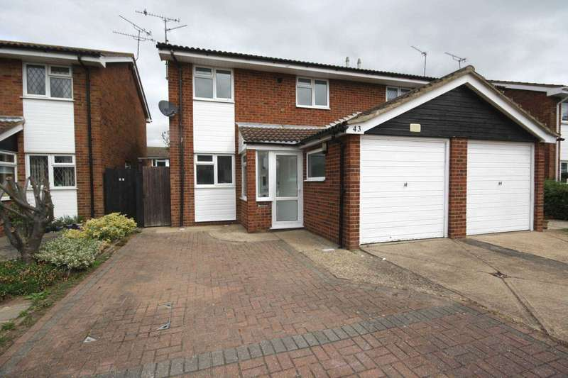 3 Bedrooms Semi Detached House for sale in Admirals Walk, Shoeburyness