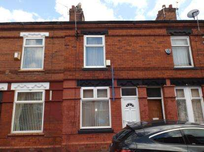 2 Bedrooms Terraced House for sale in Prestage Street, Longsight, Manchester, Greater Manchester