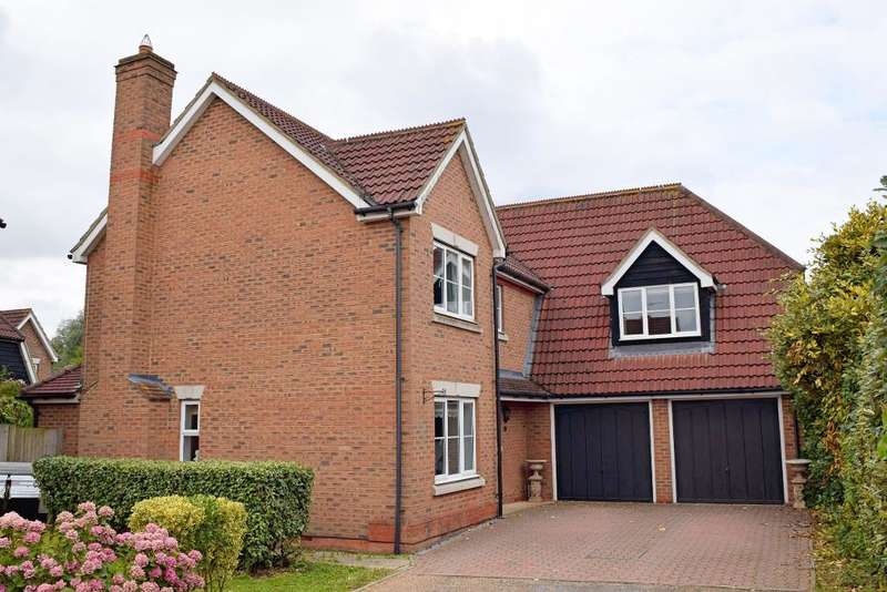 5 Bedrooms Detached House for sale in Whieldon Grange, Church Langley, CM17 9WG
