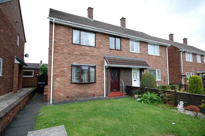 3 Bedrooms Semi Detached House for sale in Woodburn Drive, Houghton Le Spring, Tyne and Wear, DH4
