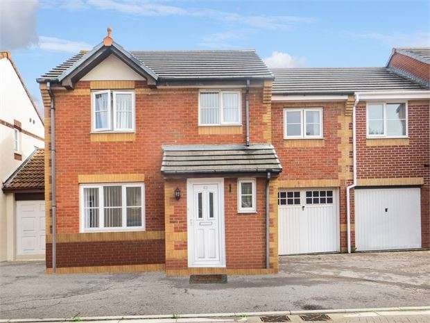 4 Bedrooms Semi Detached House for sale in Camberley Walk, Locking Castle, Weston super Mare, North Somerset. BS22 8AY