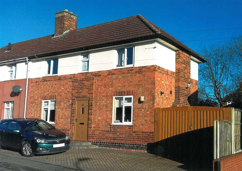 3 Bedrooms Semi Detached House for sale in Dalby Road, Anstey, Leicester