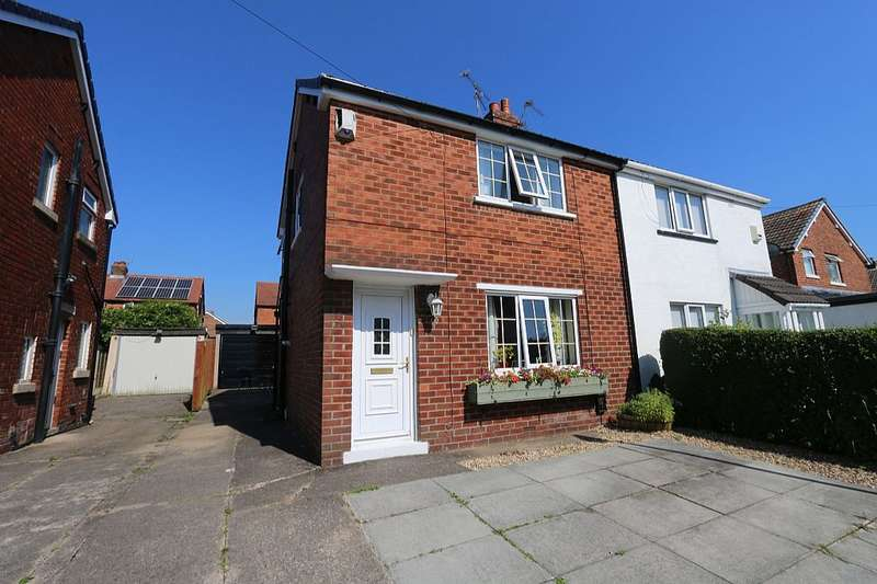2 Bedrooms Semi Detached House for sale in Alexandra Road, Walton-le-Dale, Preston, Lancashire, PR5 4QS