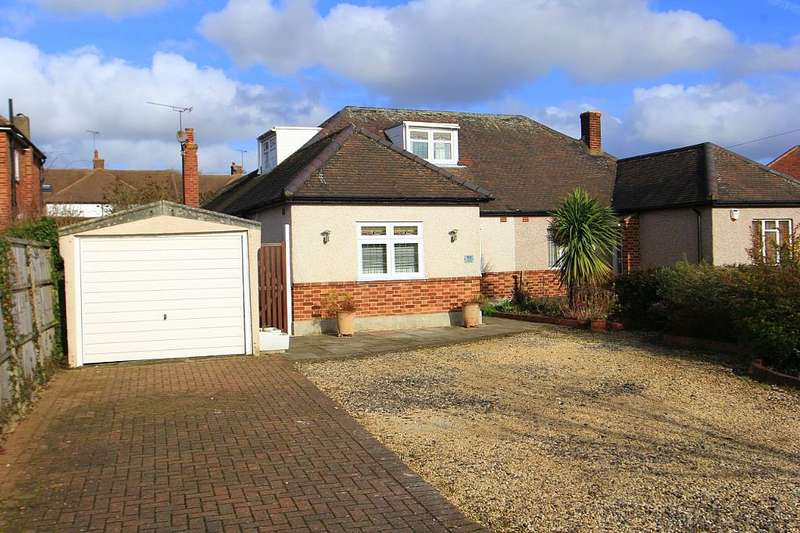5 Bedrooms Semi Detached Bungalow for sale in Eversleigh Gardens, Upminster, London, RM14 1DP