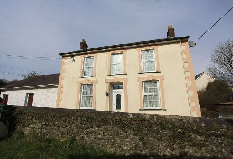 4 Bedrooms Detached House for sale in Mydroilyn, Lampeter, Ceredigion, SA48 7QY