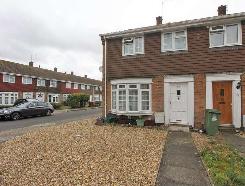 3 Bedrooms End Of Terrace House for sale in Leycroft Gardens, Erith, Kent, DA8 2PA