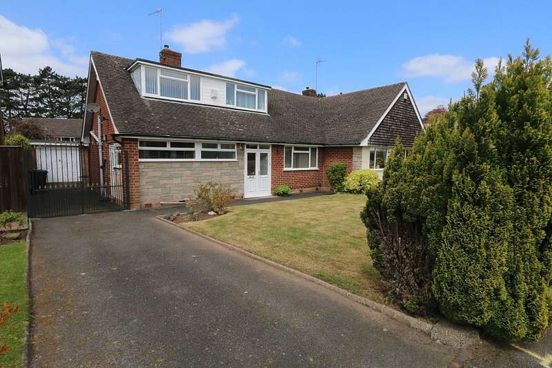 3 Bedrooms Semi Detached Bungalow for sale in Nethy Drive, Tettenhall, Wolverhampton, West Midlands, WV6