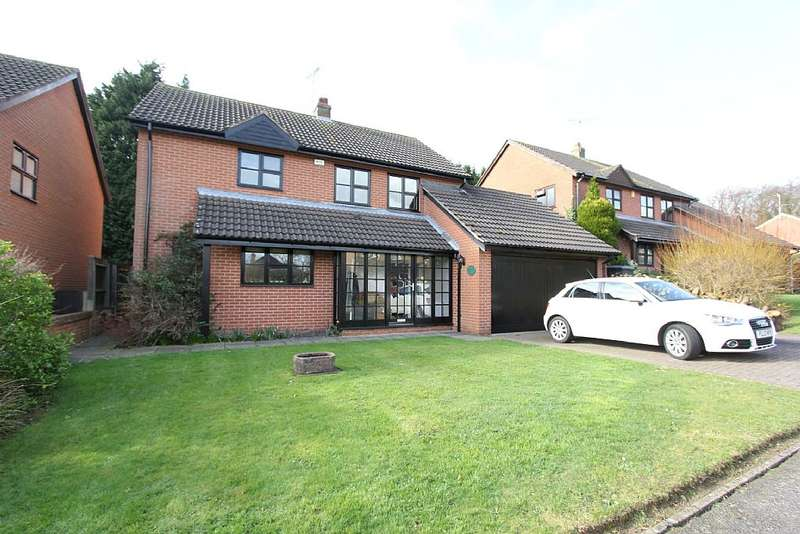 4 Bedrooms Detached House for sale in Southfield Close, Scraptoft, Leicester, Leicestershire, LE7 9UR