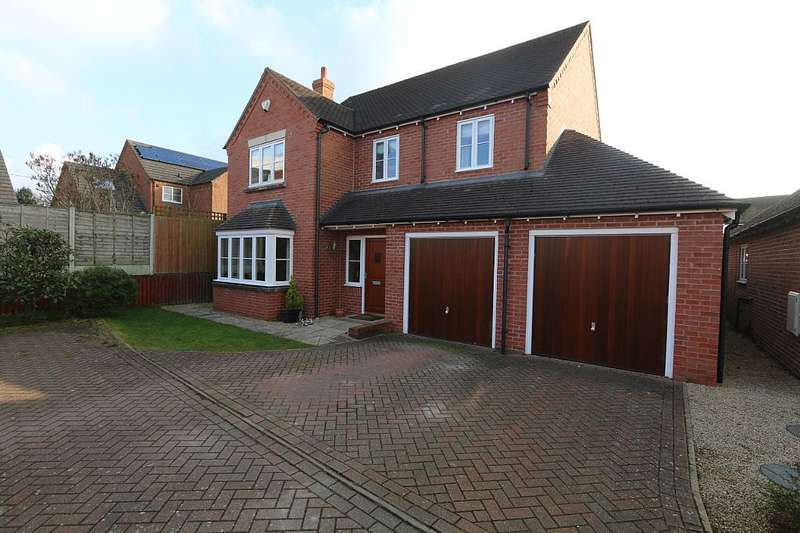 5 Bedrooms Detached House for sale in Bassa Road, Baschurch, Shrewsbury, Shropshire, SY4 2GE