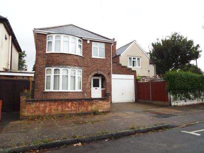 3 Bedrooms Detached House for sale in Naseby Road, Leicester, Leicestershire