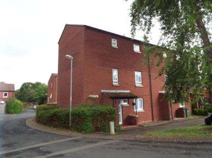 End Of Terrace House for sale in Sandhurst Close, Redditch, Worcestershire