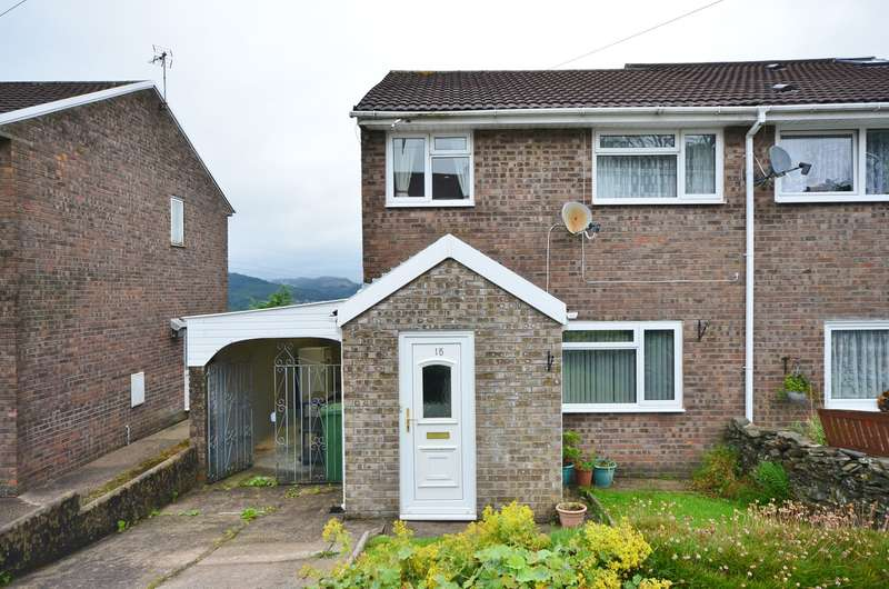 3 Bedrooms Semi Detached House for sale in Hilltop Avenue, Cilfynydd, Pontypridd, CF37