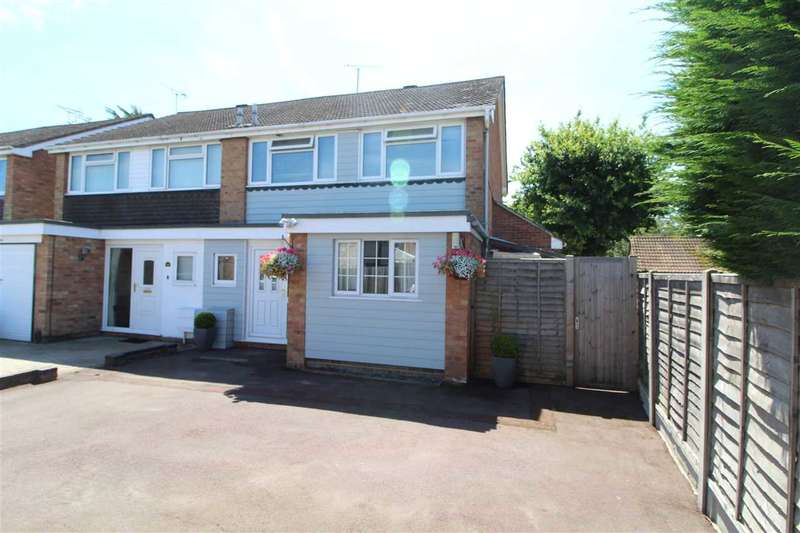 4 Bedrooms Semi Detached House for sale in Lucy Close, Stanway, Colchester