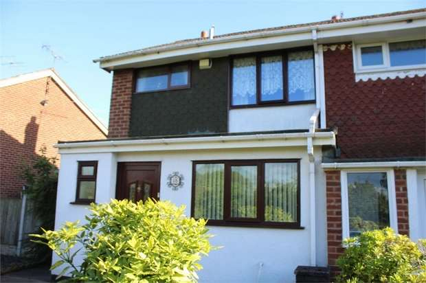 3 Bedrooms Semi Detached House for sale in Keyworth Walk, Stoke-on-Trent, Staffordshire