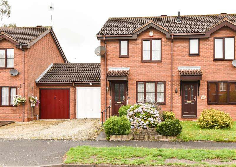 2 Bedrooms Semi Detached House for sale in The Flats, Bromsgrove