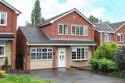 3 Bedrooms Detached House for sale in Handley Road, New Whittington, Chesterfield, Derbyshire