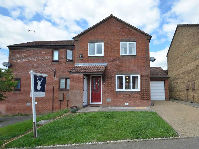 3 Bedrooms Semi Detached House for sale in Burghley Court, Great Holm