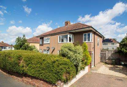 3 Bedrooms Semi Detached House for sale in Braemar Crescent, Filton Park, Bristol