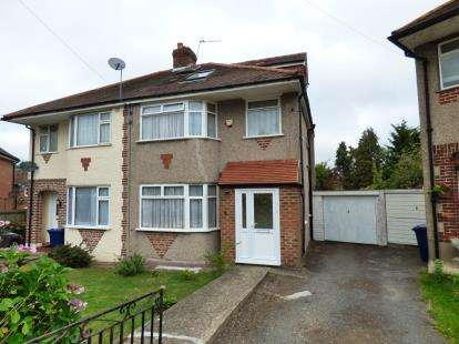 4 Bedrooms Semi Detached House for sale in Sandown Way, Northolt
