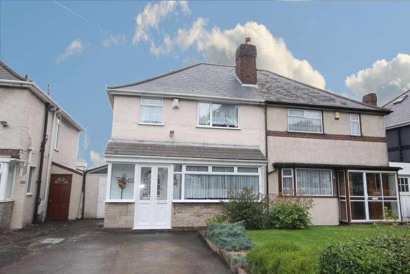 3 Bedrooms Semi Detached House for sale in Aldridge Road, Perry Barr, B42 2TY