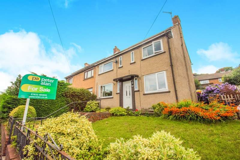 3 Bedrooms Semi Detached House for sale in Sycamore Road South, Griffithstown, Pontypool