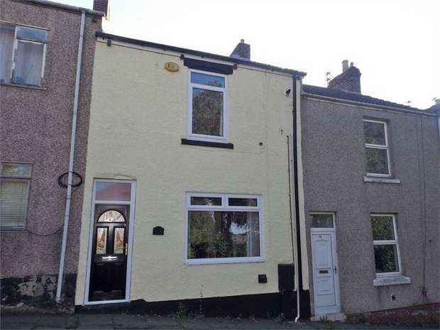 2 Bedrooms Terraced House for sale in Verdun Terrace, West Cornforth, Ferryhill, Durham