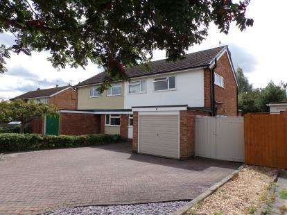 3 Bedrooms Semi Detached House for sale in Jolyffe Park Road, Stratford-Upon-Avon
