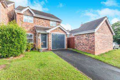 3 Bedrooms Detached House for sale in Lister Avenue, Warndon Villages, Worcester, Worcestershire