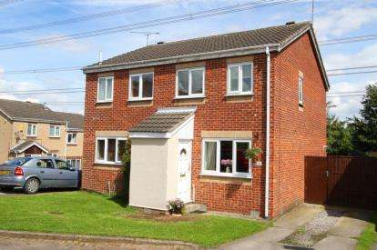 2 Bedrooms Semi Detached House for sale in Meadow Gate Avenue, Sothall, Sheffield, South Yorkshire