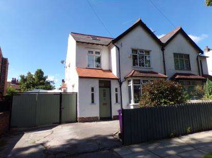 4 Bedrooms Semi Detached House for sale in Mersey Road, Aigburth, Liverpool, Merseyside, L17