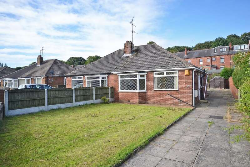 2 Bedrooms Semi Detached Bungalow for sale in Kingsley Garth, Outwood, Wakefield