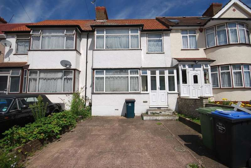 3 Bedrooms Terraced House for sale in WOODSIDE CLOSE, WEMBLEY, MIDDLESEX, HA0 1UL