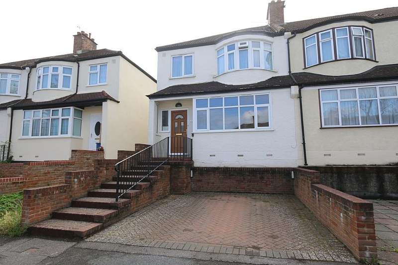 3 Bedrooms Semi Detached House for sale in Grange Road, South Croydon, London, CR2