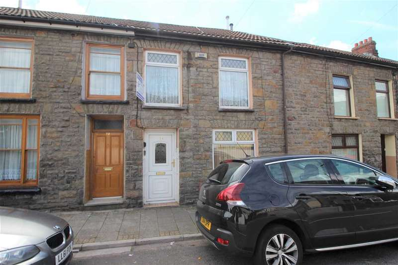 2 Bedrooms Terraced House for sale in Gelligalad Road, Pentre