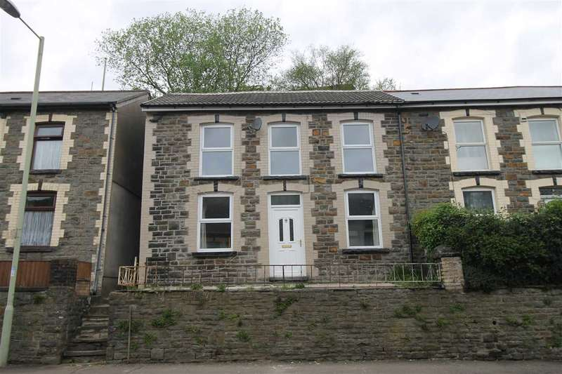3 Bedrooms Semi Detached House for sale in Aberhondda Rd, Ynyshir, Porth