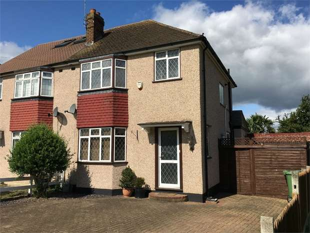 3 Bedrooms Semi Detached House for sale in Gadesden Road, Ewell