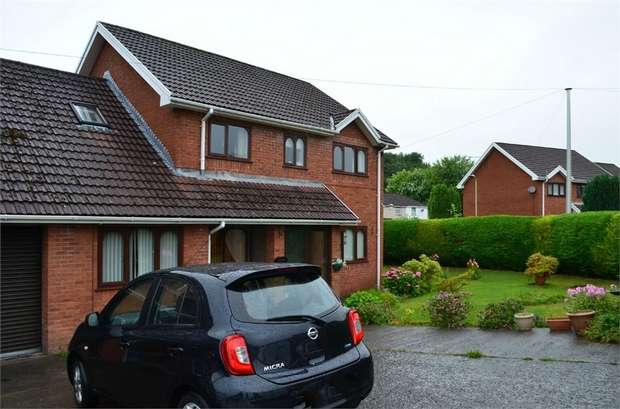 5 Bedrooms Semi Detached House for sale in Georgetown Villas, Georgetown, Merthyr Tydfil, Mid Glamorgan
