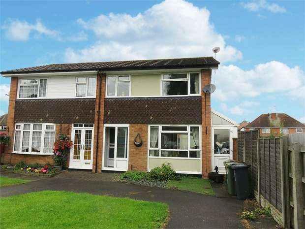 3 Bedrooms Semi Detached House for sale in Conway Close, Shirley, Solihull, West Midlands