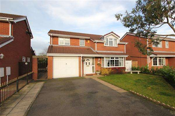 4 Bedrooms Detached House for sale in Melchester Grove, Lightwood, Stoke-on-Trent
