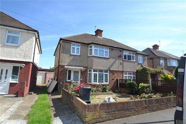 3 Bedrooms Semi Detached House for sale in Orchard Avenue, Bedfont