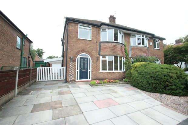 3 Bedrooms Semi Detached House for sale in Trinity Road, Sale