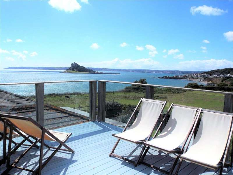 4 Bedrooms Detached House for sale in Chymorvah East, Turnpike Road, Marazion