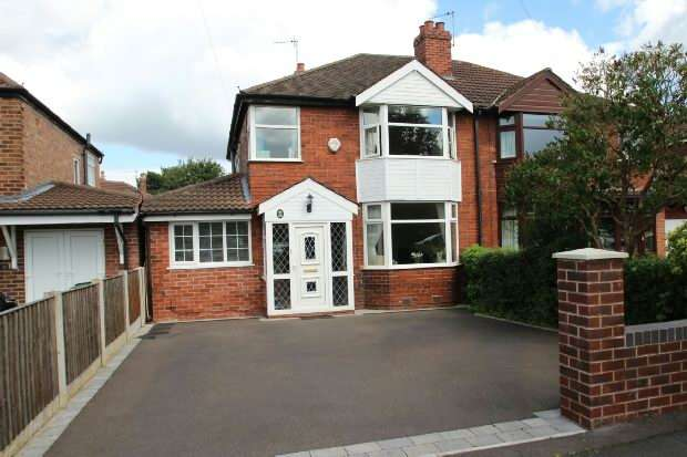 3 Bedrooms Semi Detached House for sale in Woodhouse Lane East, Timperley