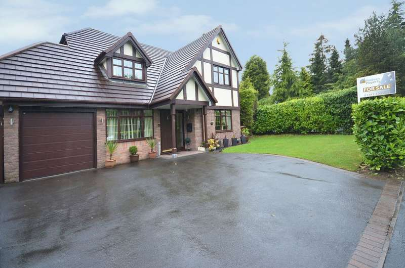 4 Bedrooms Detached House for sale in Tarragon Drive, Meir Park, ST3 7YE