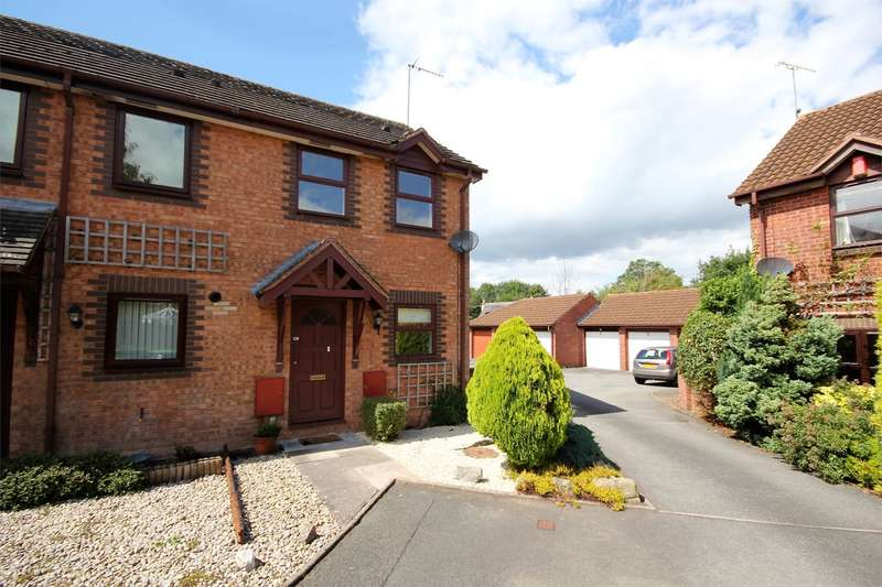 2 Bedrooms End Of Terrace House for sale in Quisters, Lyppard Hanford, Worcester, WR4