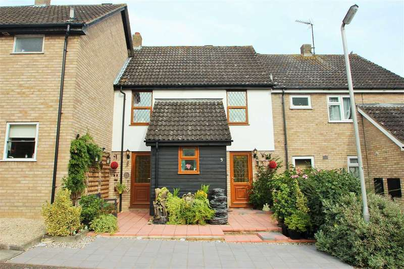 3 Bedrooms Terraced House for sale in Celandine Court, Braiswick, Colchester