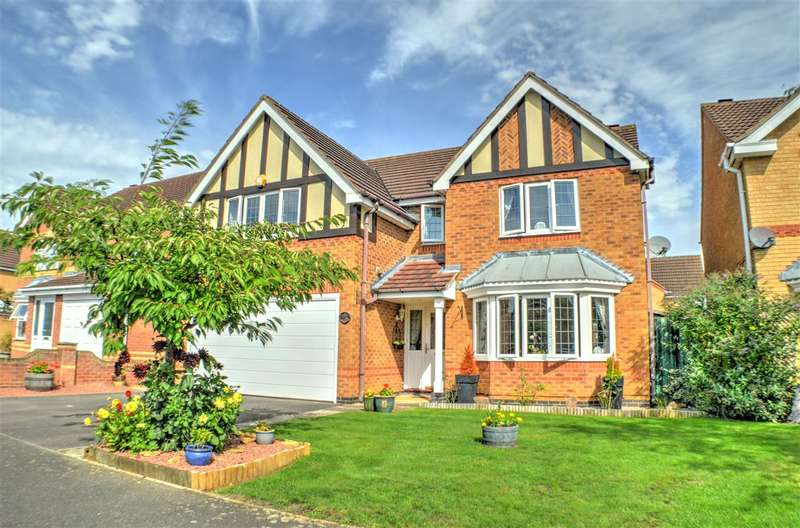 4 Bedrooms Detached House for sale in Aidan Road, Quarrington, Sleaford