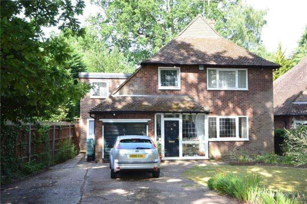 4 Bedrooms Detached House for sale in Froghall Drive, Wokingham, Berkshire