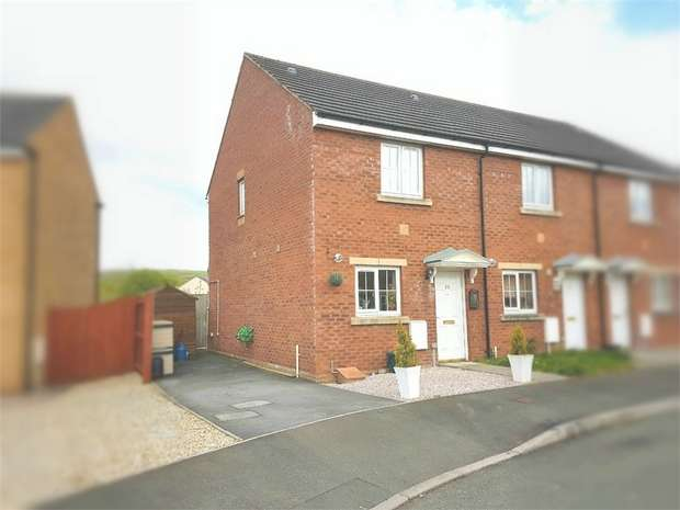 2 Bedrooms Semi Detached House for sale in Rhodfa'r Ceffyl, Carway, Kidwelly, Carmarthenshire